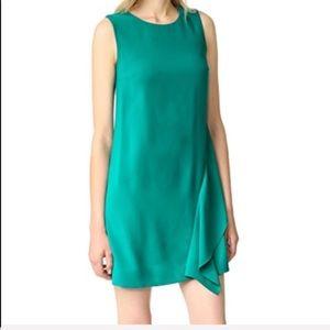 NWT Diane Von Furstenberg  Emerald Dress